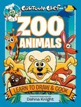 Cartoon Chef Zoo Animals