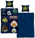 Dekbedovertrek Angry Birds star wars - Navy - 140x200
