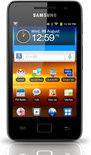 Samsung Galaxy S WiFi 3.6 - MP4 speler - 8 GB - Zwart