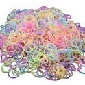 Loom Mixed Elastiekjes - Glow in the dark Bands - 600 Stuks