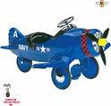 Airflow Trapauto corsair plane blauw