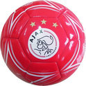 Ajax Leren Bal Groot Rood 1900