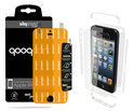 QooQoon silqShield™ Invisible Screenprotector voor Apple iPhone 5/5S - Full Body met SmartApply