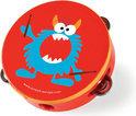 Scratch Muziek - Tamboerijn Rock&Roll Monster - Ø 16x4.5 cm
