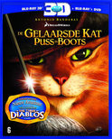 De Gelaarsde Kat 3D (3D+2D Blu-ray+Dvd)