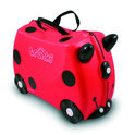 Trunki Ride-On - Lieveheersbeestje Harley - Kinderreiskoffertje