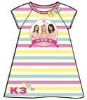 Studio 100 Nachthemd k3 roze/geel/groen maat 98/104
