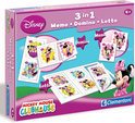 Clementoni Minnie Mouse 3 in 1