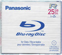 Panasonic BD-R 25GB 2x - 1 stuk in jewelcase