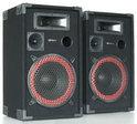 SkyTec XEN3508 - PA Luidsprekerboxen 8 inch - 2 stuks - Zwart