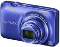 Nikon Coolpix S6300 - Blauw