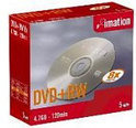 Imation DVD+RW 120min/4,7GB 5 stuks in showcase