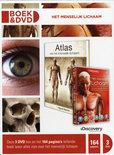 Atlas van het menselijk lichaam boek + dvd