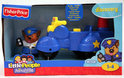 Fisher-Price Little People Animalville 'Politiemotor'