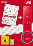 Wii Play Motion + Remote Controller (Rood)