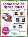 Sombreros del Mudo Entero = Thematic Emergent Readers