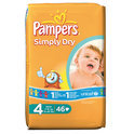 Pampers Simply Dry - Luiers Maat 4 - Voordeelpak 46st