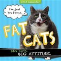 Fat Cats 2015 Wall Calendar