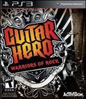 Guitar Hero, Warriors of Rock (Game Only)  PS3