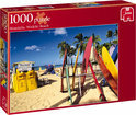 Jumbo Puzzel - Honolulu Waikiki Beach