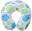 Safety 1st -  Nekkussentje - Wit/Blauw/Groen