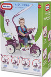Little Tikes 4-in-1 - Driewieler - Sports Edition Trike (Pink/ White)