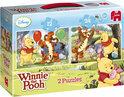 Jumbo Winnie de Poeh Puzzel 2 in 1 - Puzzel - 24 stukjes