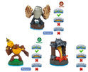 Skylanders Swap Force Battle Pack Bumble Blast, Knockout Terrafin, Fiery Force Wii + PS3 + Xbox360 + 3DS + Wii U + PS4