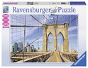 Ravensburger Op de Brooklyn Bridge - Legpuzzel - 1000 Stukjes