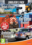 Simulatie Pack - Heavy Freight Simulator 2 + Rail Cargo Simulator + Ambulance Simulator