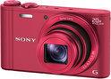 Sony Cybershot DSC-WX300 - Rood