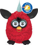 Furby Black Cherry - Rood