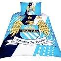 Manchester City Dekbedovertrek - 140 x 200 cm - Blauw