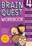 Brain Quest Grade 4 Workbook [With Over 150 Stickers And Mini-Card Deck And Fold-Out