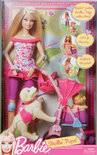 Barbie Puppy &amp; Kinderwagen