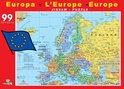 Roadmap - Europa - Legpuzzel - 99 Stukjes