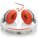 JBL J55 - On-ear Koptelefoon - Wit / Oranje