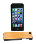 Perimac Wood Back Case, Houten iPhone 5 Case, Kers