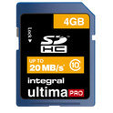4GB Integral SDHC Card - class 10 Up to 30MB/sec/ 200x