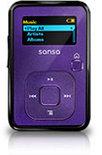 SanDisk Sansa Clip+ - Mp3-speler - 4 GB - Paars
