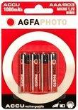1x4 AgfaPhoto Accu NiMh Micro AAA 900 mAh
