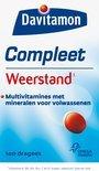 Davitamon Compleet Weerstand - 100 Dragees - Multivitamine
