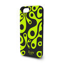 ILuv - Aurora Glow in the Dark Case - iPhone 5 / 5s - Zwart