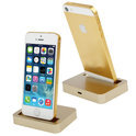 iPhone 5 / 5s dockingstation goud