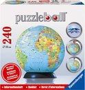Puzzleball - Aarde Op Draaistandaard