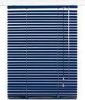 Horizontale Aluminium Jaloezie 25mm - 70x175 - Donkerblauw
