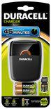 Duracell Speedy oplader CEF 27 - 45 min oplaadtijd + 2 AA 2 AAA batterijen