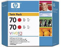 HP 70 Inktcartridges - Rood / 130 ml / 2 Pack