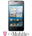 Huawei Ascend Y300 - Wit - T-Mobile prepaid telefoon