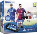 Sony PlayStation Vita  Handheld Console WiFi  + FIFA 15 Voucher + 4GB Memory Card - Zwart PS Vita Bundel